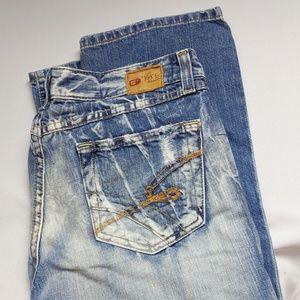 BKE Denim Jean Capri Shorts Excellent Condition 30